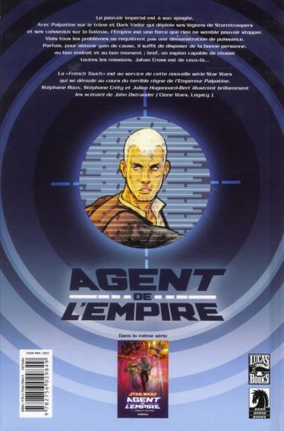 Dos Star Wars - agent de l'empire tome 1 - projet éclipse