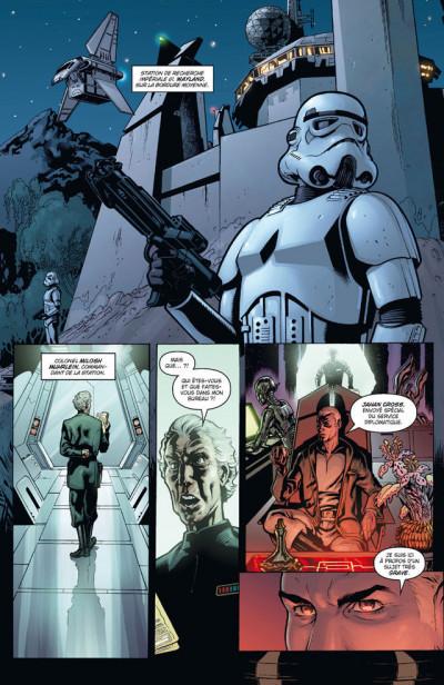 Page 1 Star Wars - agent de l'empire tome 1 - projet éclipse