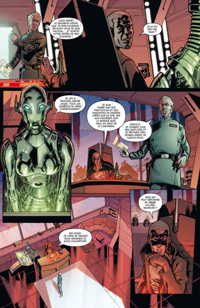 Page 2 Star Wars - agent de l'empire tome 1 - projet éclipse