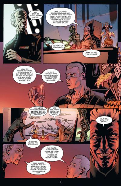 Page 3 Star Wars - agent de l'empire tome 1 - projet éclipse