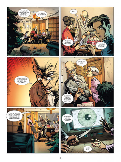 Page 1 masqué tome 4 - le préfet spécial