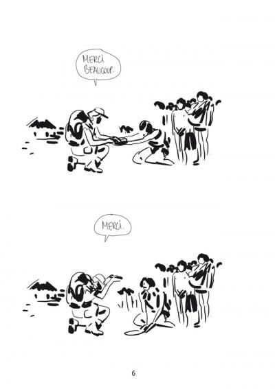 Page 4 Bastien Vivès tome 5 - la guerre