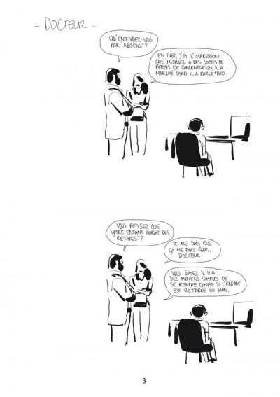 Page 1 Bastien Vivès tome 6 - la bande dessinée