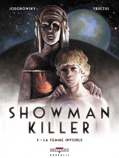 Couverture showman killer tome 3 - la femme invisible