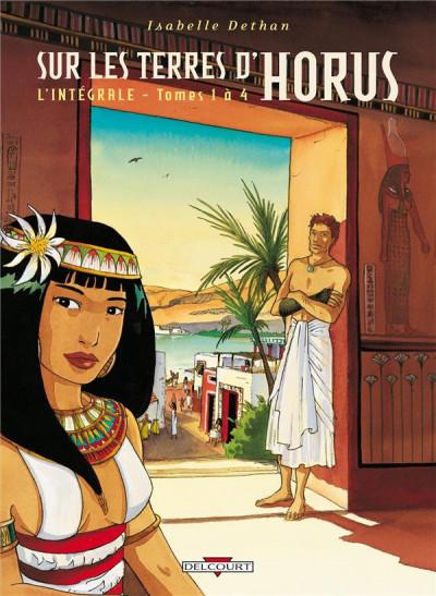 Couverture sur les terres d'Horus - intégrale tome 1 à tome 4