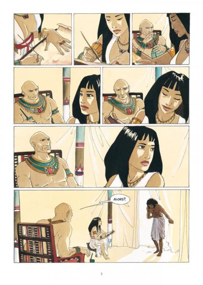 Page 1 sur les terres d'Horus - intégrale tome 1 à tome 4