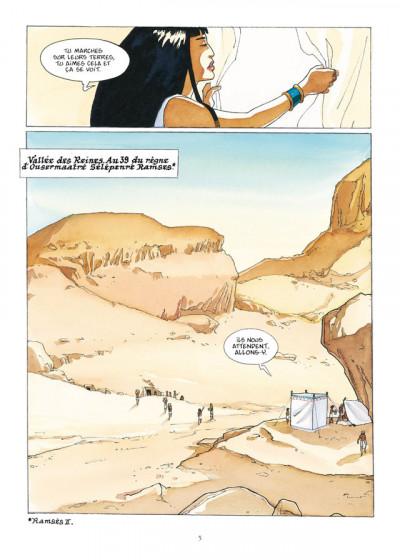 Page 3 sur les terres d'Horus - intégrale tome 1 à tome 4