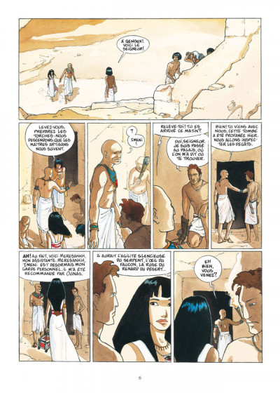 Page 4 sur les terres d'Horus - intégrale tome 1 à tome 4