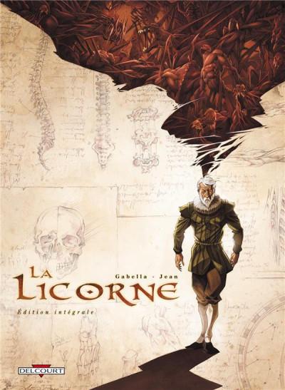 image de la licorne - intégrale tome 1 à tome 4