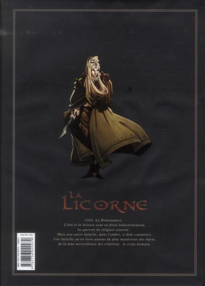 Dos la licorne - intégrale tome 1 à tome 4