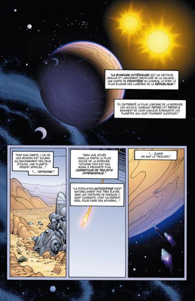 Page 1 Star Wars ; épisode I ; révélations