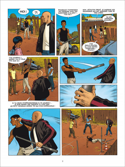 Page 2 Golden Cup tome 6