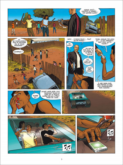 Page 3 Golden Cup tome 6