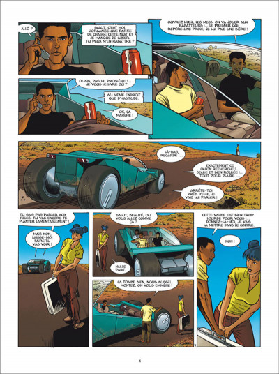 Page 4 Golden Cup tome 6