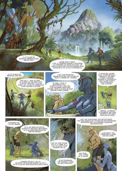 Page 3 Aquablue tome 13