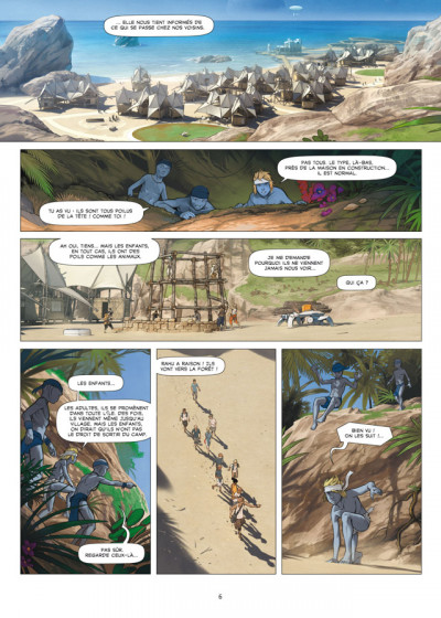 Page 4 Aquablue tome 13