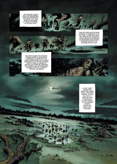 Page 1 la guerre du feu T.1 - dans la nuit des âges