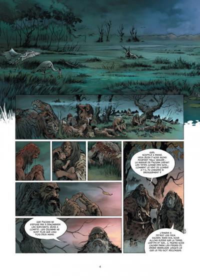 Page 2 la guerre du feu T.1 - dans la nuit des âges