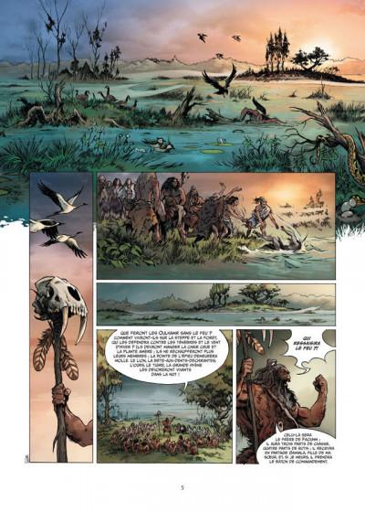 Page 3 la guerre du feu T.1 - dans la nuit des âges