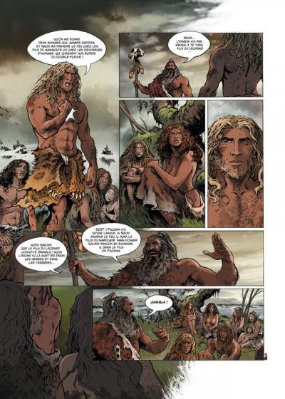 Page 4 la guerre du feu T.1 - dans la nuit des âges