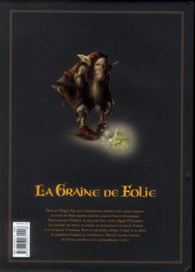 Dos La graine de folie - intégrale tome 1 à tome 4