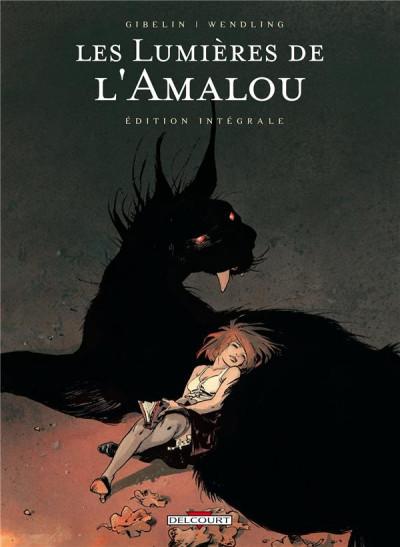 Couverture les lumières de l'Amalou - intégrale tome 1 à tome 5