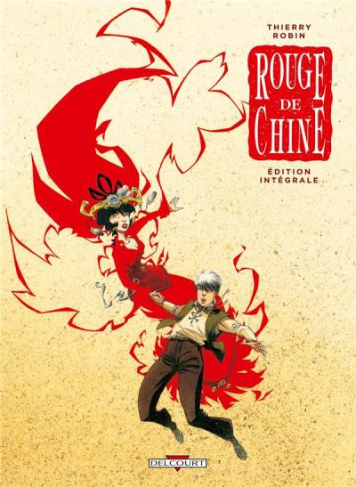 Couverture Rouge de Chine - Intégrale tome 1 à tome 4