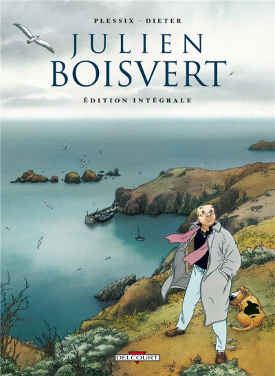 Couverture Julien Boisvert - intégrale tome 1 à tome 4