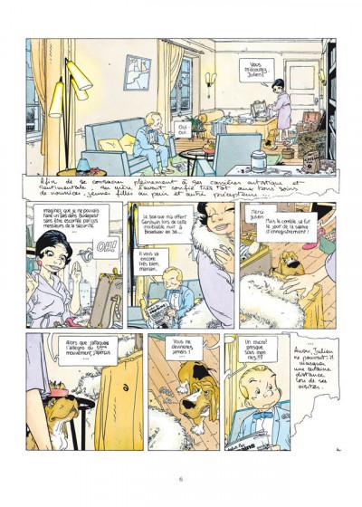 Page 4 Julien Boisvert - intégrale tome 1 à tome 4