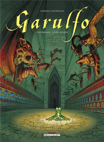 Couverture Garulfo - intégrale tome 2 - tome 3 à tome 6