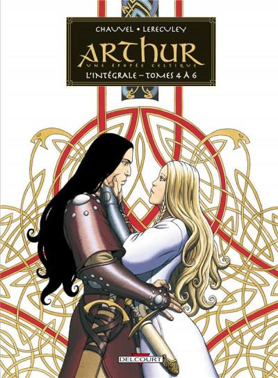 Couverture Arthur - intégrale tome 4 à tome 6