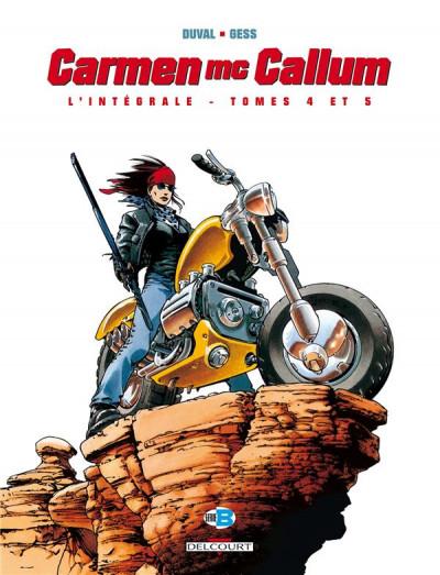 Couverture Carmen Mc Callum - intégrale tomes 4 et 5