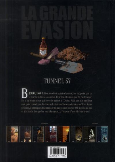 Dos La grande évasion tome 5 - tunnel 57