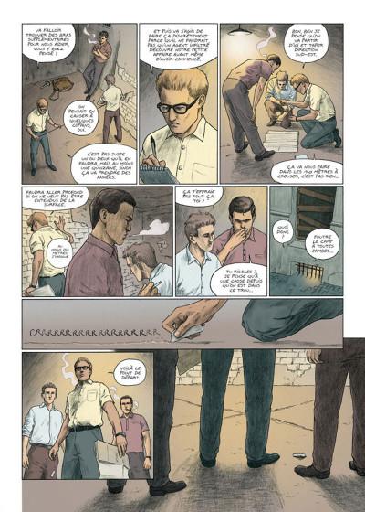 Page 3 La grande évasion tome 5 - tunnel 57
