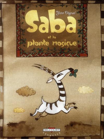 Couverture Saba et la plante magique