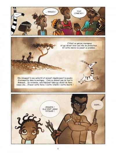 Page 4 Saba et la plante magique