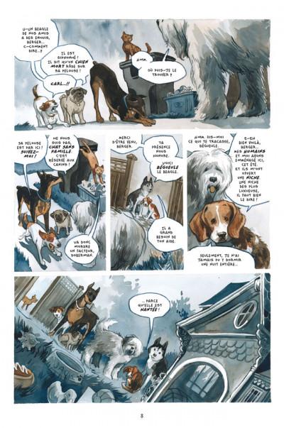 Page 2 Bêtes de somme tome 1 - mal de chiens