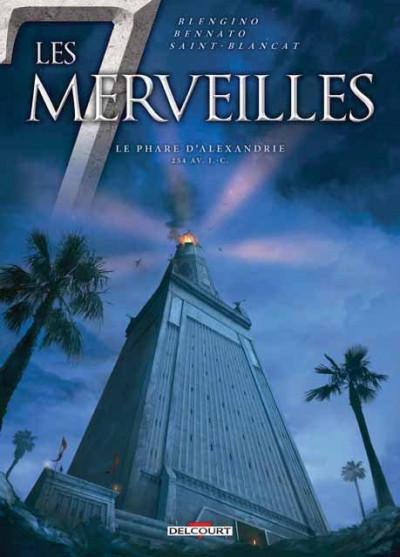 Couverture Les 7 Merveilles tome 3