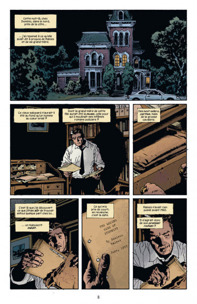 Page 4 fatale tome 1 - la mort aux trousses