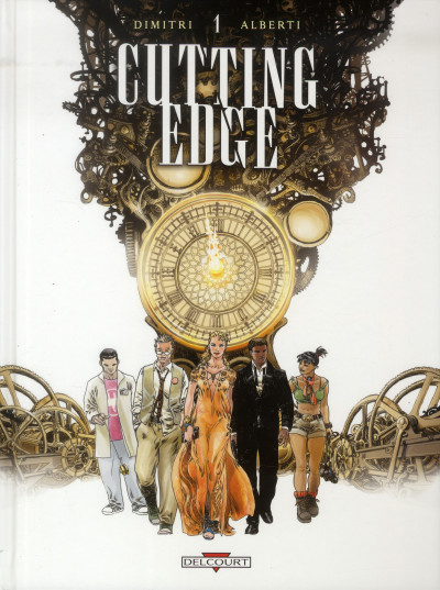 Couverture Cutting Edge tome 1