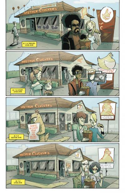 Page 1 Tony Chu, détective cannibale tome 4 - flambé !