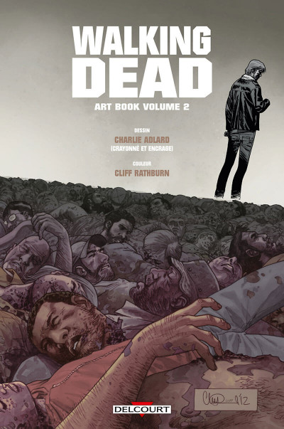 Page 3 Walking dead - art book tome 2