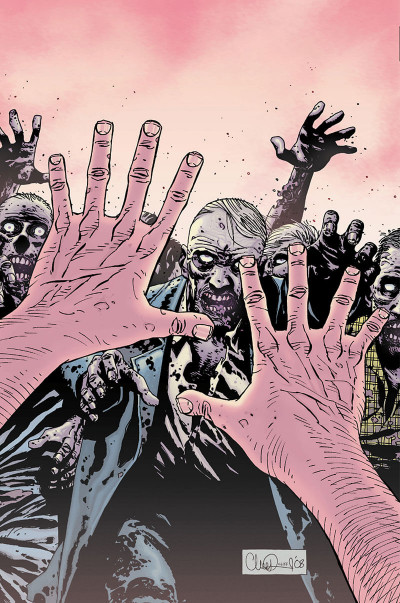 Page 4 Walking dead - art book tome 2