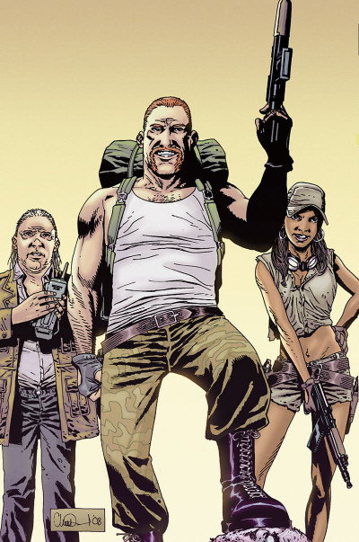 Page 8 Walking dead - art book tome 2