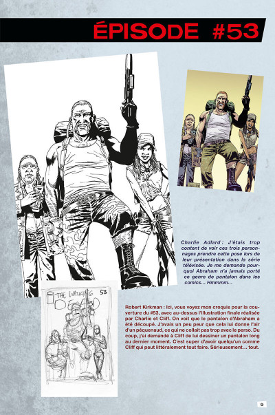 Page 9 Walking dead - art book tome 2