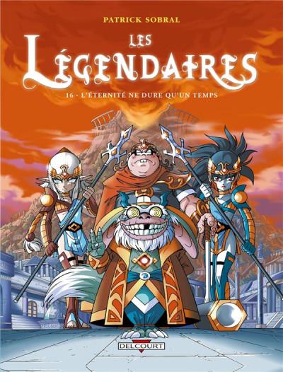 Couverture Les légendaires tome 16