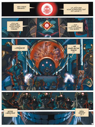 Page 1 Les légendaires tome 16