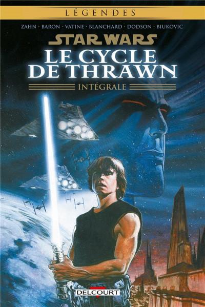 Couverture star wars - le cycle de thrawn ; intégrale