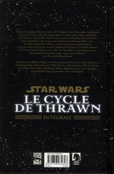 Dos star wars - le cycle de thrawn ; intégrale