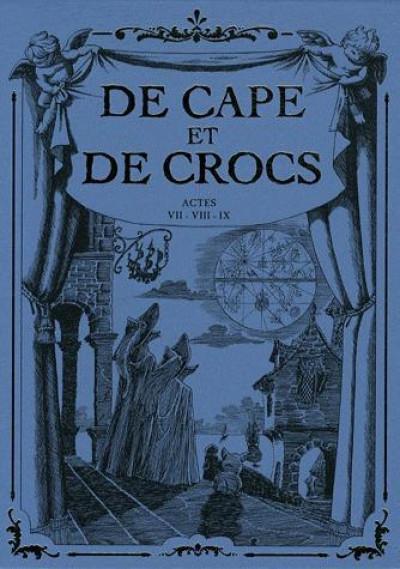 image de de cape et de crocs - coffret tome 7 à tome 9